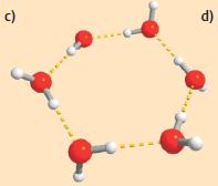 Abb. 4 Ringförmiger Wassercluster